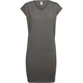 Icebreaker Yanni Tee Dress Dame metal